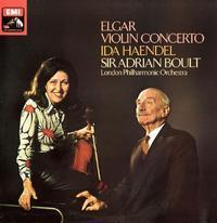 Elgar - Violin Concerto : Ida Haendel and Sir Adrian Boult - 180g LP