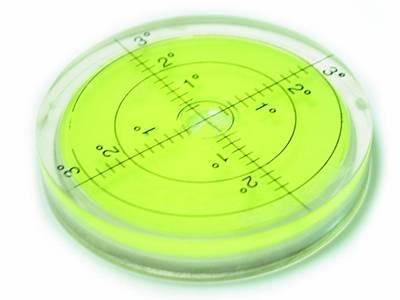 Tonar Ecolevel Yellow - Bubble Level - Turntable Spirit Level