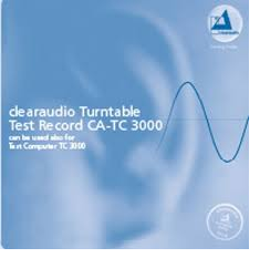 CA-TC 3000 Clearaudio  Test Record ( Test LP ) - 180g LP