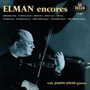 Mischa Elman - Encores - 180g LP