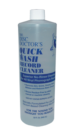 Disc Doctor Quick Wash  Quick Wash No-Rinse Vinyl Cleaning Solution - Quart