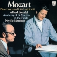 Mozart - Alfred Brendel  Academy of St. Martin in the Fields, Neville Marriner - 180g LP