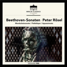 Beethoven - Moonlight, Pathétique and Appassionata Sonatas -  Peter Rösel  - 180g LP