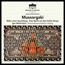 Mussorgsky - Pictures at an Exhibition & Night on Bald Mountain :  Igor Markevitch - 180g LP