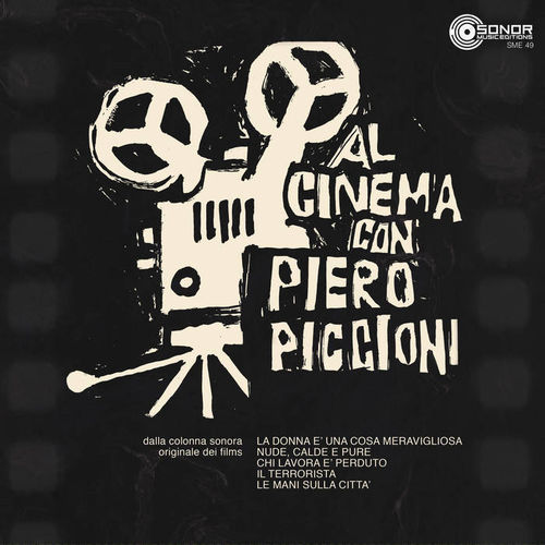 Al Cinema Con - Piero Piccioni - 2LP