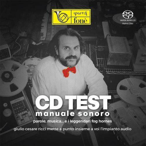 CD TEST - Giulio Cesare Ricci : Fone Test SACD