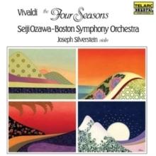 Vivaldi - The Four Seasons : Joseph Silverstein : Seiji Ozawa : Boston Symphony Orchestra - LP