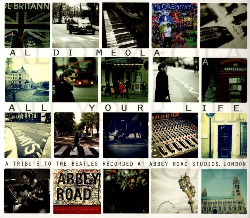 Al Di Meola - All Your Life: A Tribute To the Beatles Recorded At Abbey Road - 45rpm 180g 2LP
