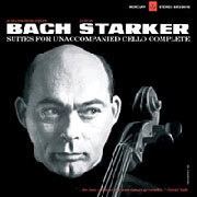 Bach - Janos Starker : 6 Cello Suites:Suites for Unaccompanied Cello BWV1007-1012 - 180g 3LP Box Set