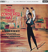 Falla - The Three Cornered Hat : Ernest Ansermet  : Orchestre de la Suisse Romande   - 180g LP