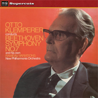 Beethoven - Symphony No.7 in A : Otto Klemperer : New Philharmonia Orchestra -  180g LP