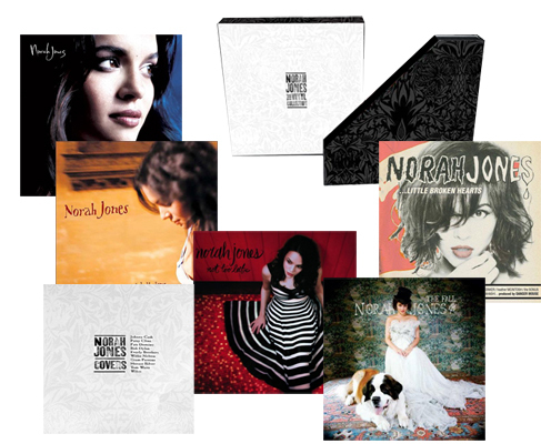 Norah Jones - The Vinyl Collection - 200g 7LP Box Set