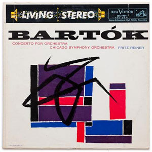 Bartok - Fritz Reiner - Concerto For Orchestra : Chicago Symphony Orchestra - 200g LP