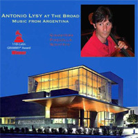 Antonio Lysy - At The Broad Music From Argentina - 180g LP