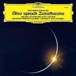 R Strauss - Also Sprach Zarathustra : Herbert Von Karajan : Berlin Philharmonic : - 180g LP