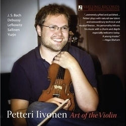 Bach / Debussy - Petteri Iivonen : Art Of The Violin -  180g LP