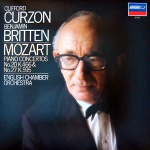Mozart - Piano Concertos 20 & 27  Benjamin Britten & The English Chamber Orchestra - 45rpm 180g 2LP