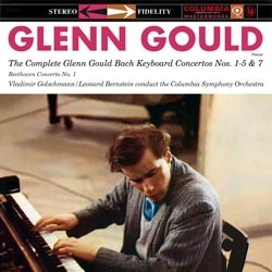 Bach -  The Complete Glenn Gould Bach Keyboard Concertos Nos. 1-5 & 7 - 180g 3LP Box Set