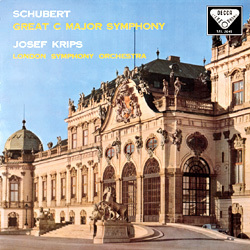 "Schubert -  Symphony No. 9 ""The Great"" : Josef Krips : London Symphony Orchestra   - 180g LP"