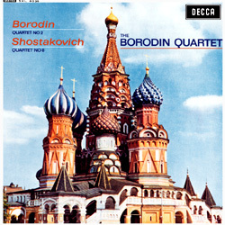 Borodin - String Quartet No. 2 / Shostakovich - String Quartet No. 8 - The Borodin Quartet - 180g LP