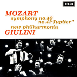 Mozart - Symphonies Nos. 40 & 41 :  Carlo Maria Giulini : New Philharmonia Orchestra - 180g LP