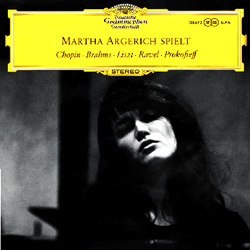 Martha Argerich - Debut Recital : Chopin : Scherzo No. 3 / Brahms : Rhapsodies - 180g LP