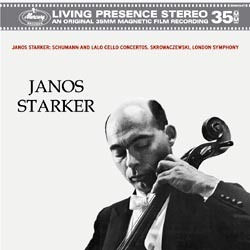 Schumann / Lalo - Cello Concertos : Janos Starker : London Symphony : Skrowaczewski - 180g LP