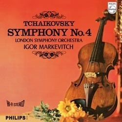 Tchaikovsky - Symphony No. 4 - The London Symphony Orchestra  by Igor Markevitch - 180g LP