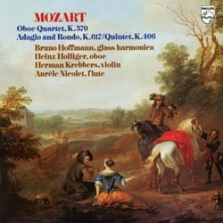Mozart - Oboe Quartet and String Quintet - 180g LP