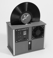 Record Cleaning Service - RCM Ultrasonic Audio System Desk