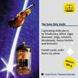 The Tube Only Violin - Tchaikovsky, Bériot, Elgar, Massenet, Drigo, Schubert - 180g LP