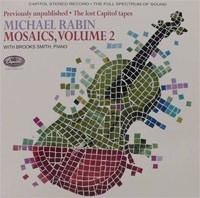 Michael Rabin - Mosaics Volume 2 :  Brooks Smith  - 180g LP