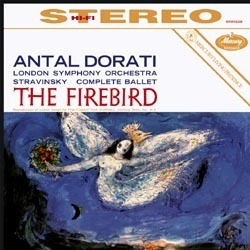 Stravinsky - The Firebird  : Antal Dorati : London Symphony Orchestra  - 180g LP