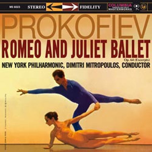 Prokofiev - Romeo and Juliet Ballet : Dimitri Mitropoulos :  New York Philharmonic  - 180g LP