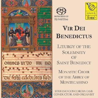 Vir  Dei Benedictus - Liturgy Of The Solemnity Of Saint Benedict - SACD