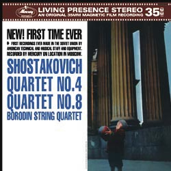 Shostakovich - String Quartets No. 4 &  No. 8  - The Borodin String Quartet - 180g LP