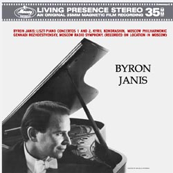 Liszt - Piano Concertos Nos. 1 & 2 - Byron Janis - Kyril Kondrashin - 180g LP