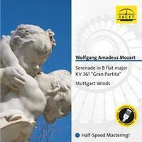 Mozart -  Serenade in B flat major : Gran Partita  Fantasia in F minor : Stuttgart Winds   - 180g LP