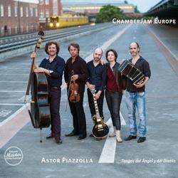 Astor Piazzolla - Tangos del Ángel y del Diablo : ChamberJam Europe - 180g D2D LP