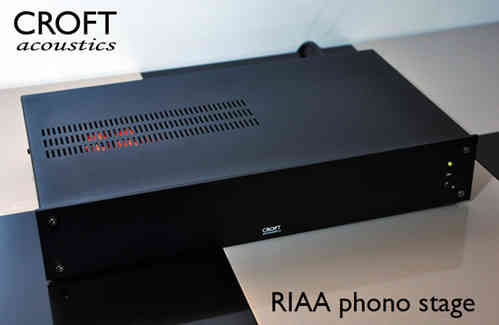 Croft Acoustics  RIAA R Phono Stage MM
