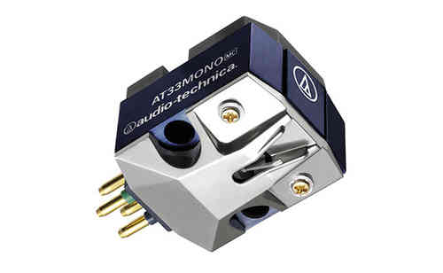 AT33MONO    Moving Coil Cartridge MC (0.7mil) Mono