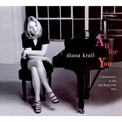 Diana Krall - All For You A Dedication To The Nat King Cole Trio - 45rpm 180g 2LP