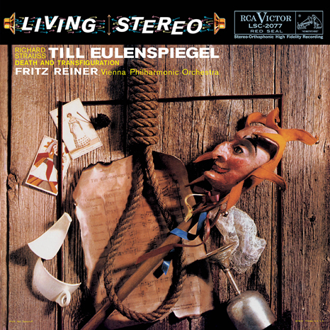 R. Strauss - Till Eulenspiegel/Death and Transfiguration : Fritz Reiner : Vienna Phil Orch - 200g LP