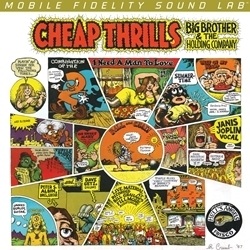 Janis Joplin & Big Brother & the Holding Company - Cheap Thrills - 45rpm 180g 2LP