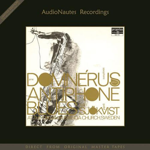 Antiphone Blues - Arne Domnerus with Gustaf Sjokvist - 180g  LP