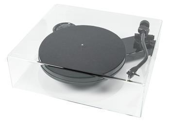 Turntable Acrylic Dustcover Pro-Ject Cover IT RPM 1/3 Carbon ( 430 x 380 x 130 mm )