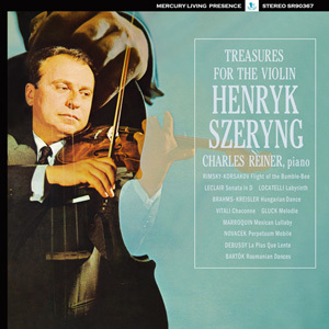 Treasures For The Violin -   Henryk Szeryng , Charles Reiner - 180g  LP