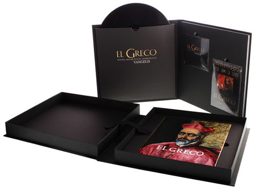 Vangelis - El Greco - The Anniversary Edition - LP, DVD, CD, Book in Plexi Glass Box Set