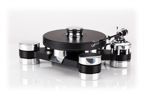 Transrotor Darkstar Silver Shadow Turntable Acrylic Dust Cover   ( 490 x 370 x 260 mm )