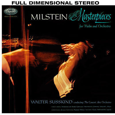 Nathan Milstein - Masterpieces for Violin and Orchestra : Walter Susskind - 180g  LP